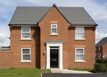 "Thumbnail 4 bed detached house for sale in ""Hollinwood"" at Swanlow Lane, Winsford"