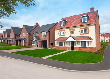 "Thumbnail 5 bedroom detached house for sale in ""Warwick"" at Marsh Lane, Nantwich"