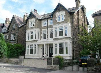 Thumbnail 3 bed flat to rent in Grove Road, Harrogate, North Yorkshire