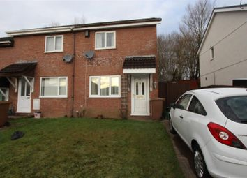 Thumbnail 2 bed end terrace house for sale in Heol Y Pia, Caerphilly