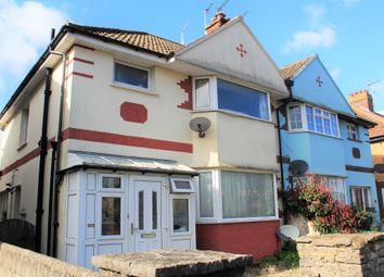 Thumbnail 1 bed flat for sale in Ridgeway Avenue, Weston-Super-Mare