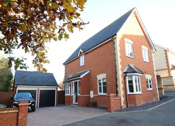 Thumbnail 4 bed detached house for sale in Hazel Rise, Claydon, Ipswich, Suffolk