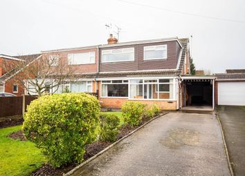 Thumbnail 4 bed semi-detached house for sale in Madeley Close, Broughton, Chester