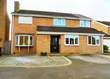 Thumbnail 5 bed detached house for sale in Whittington Road, Westlea, Swindon