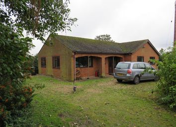 Thumbnail 3 bedroom detached bungalow for sale in Black Drove, St. Johns Fen End, Wisbech