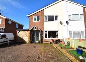 Thumbnail 3 bed semi-detached house for sale in Hampton Crescent, Nomans Heath, Malpas