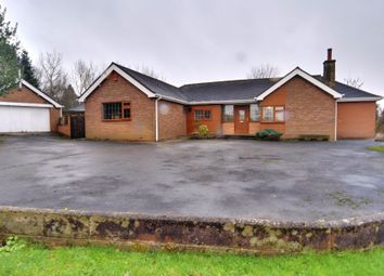 Thumbnail 5 bedroom bungalow for sale in Congleton Road North, Scholar Green, Stoke-On-Trent, Cheshire