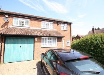 Thumbnail 4 bed semi-detached house to rent in Downs Road, Luton