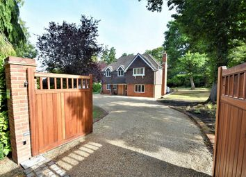 Thumbnail 5 bed detached house for sale in Sandy Lane, Camberley, Surrey
