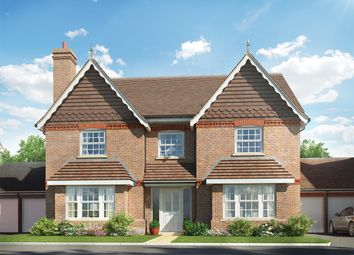 Thumbnail 5 bed detached house for sale in Cutbush Lane, Shinfield, Reading