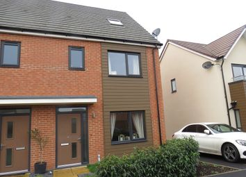 Thumbnail 4 bed town house for sale in Fraser Drive, Bramshall Meadows, Uttoxeter