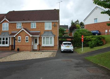 Thumbnail 3 bed semi-detached house for sale in Franklin Close, Stapenhill, Burton-On-Trent