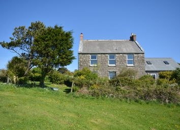 Thumbnail 4 bedroom detached house for sale in Leswidden, St. Just, Cornwall
