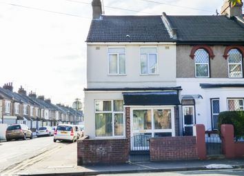 Thumbnail 3 bedroom end terrace house for sale in Old Road West, Gravesend