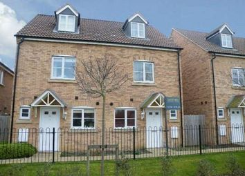 Thumbnail 3 bedroom town house to rent in Emperor Way, Fletton, Peterborough