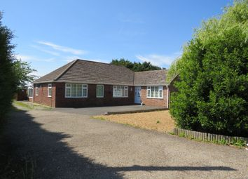 Thumbnail 3 bed detached bungalow for sale in Hallgate, Gedney, Spalding