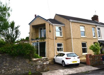 Thumbnail 4 bed semi-detached house for sale in Gwydr Place, Loughor, Swansea