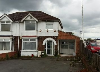 Thumbnail 3 bed semi-detached house for sale in Stratton Road, Swindon