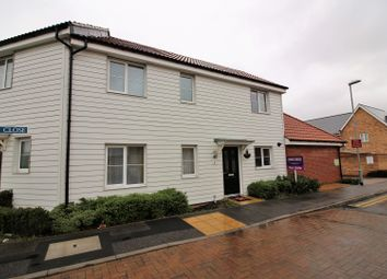 Thumbnail 2 bed terraced house for sale in Markhams Close, Basildon