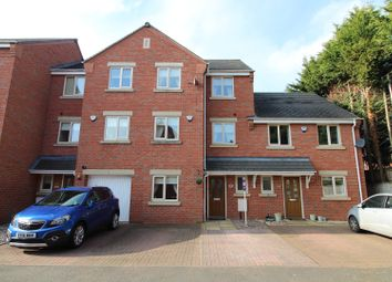 Thumbnail 4 bed town house for sale in Regal Gardens, Bromsgrove