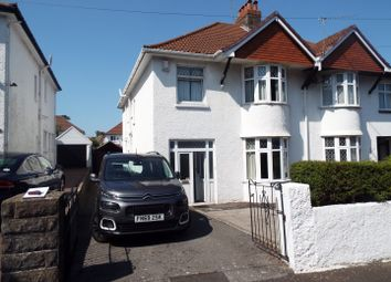 4 bed semi-detached house for sale in 14 Norton Road, Norton, Mumbles SA3