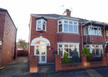 Thumbnail 3 bedroom semi-detached house for sale in Lodge Street, Hull