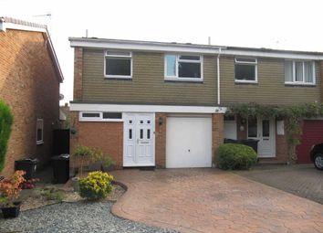 Thumbnail 3 bed semi-detached house to rent in Milbank Court, Darlington, County Durham