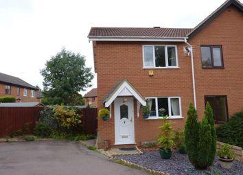 Thumbnail 2 bed semi-detached house to rent in Porlock Lane, Furzton, Milton Keynes