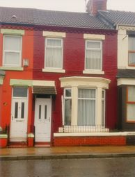 Thumbnail 3 bedroom terraced house to rent in Breck Road, Anfield, Liverpool