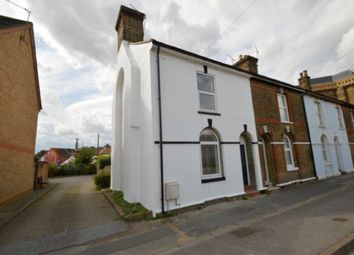 Thumbnail 2 bed end terrace house to rent in Station Road, Strood, Rochester