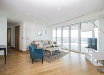 Thumbnail 3 bedroom flat to rent in Arena Tower, Crossharbour Plaza, Canary Wharf
