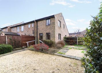 Thumbnail 2 bed end terrace house for sale in Meadows Leigh Close, Weybridge, Surrey