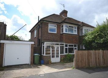 Thumbnail 3 bed semi-detached house for sale in Southmead Road, Aldershot, Hampshire