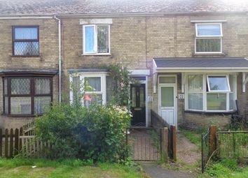 Thumbnail 2 bed terraced house for sale in Mount Pleasant Road, Wisbech, Cambridgeshire