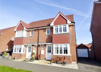 Thumbnail 3 bed semi-detached house for sale in Benjamin Gray Drive, Littlehampton