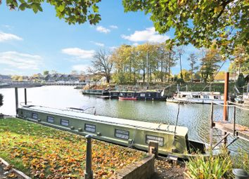 Thumbnail 1 bedroom houseboat for sale in Hampton Court Road, East Molesey