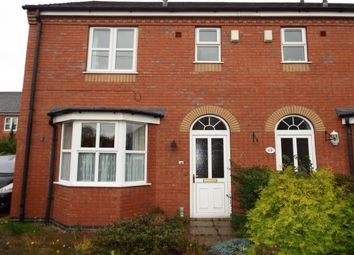 Thumbnail 3 bed end terrace house to rent in Wistaston Road, Willaston, Nantwich
