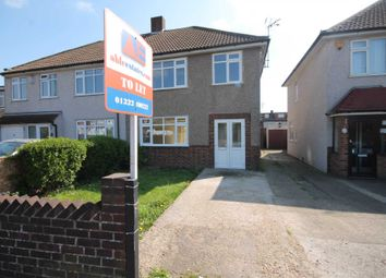 Thumbnail 3 bed semi-detached house to rent in Bedonwell Road, Bexleyheath