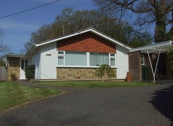 Thumbnail 3 bed detached bungalow to rent in Rusper, West Sussex