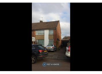Thumbnail 4 bed semi-detached house to rent in Dalmeny Road, Coventry