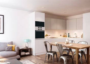 Thumbnail 1 bed flat for sale in Cedarwood Square, The Timberyard, 125-127 Evelyn Street, London