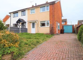 Thumbnail 3 bed semi-detached house for sale in Tudor Rise, Trinity Fields, Stafford