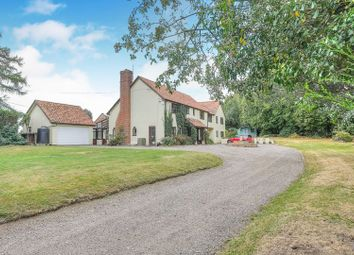 Thumbnail 6 bed country house for sale in The Street, Tibenham