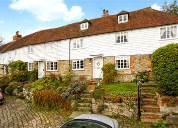 3 bed terraced house for sale in Church Row, Plaxtol Lane, Plaxtol, Sevenoaks TN15