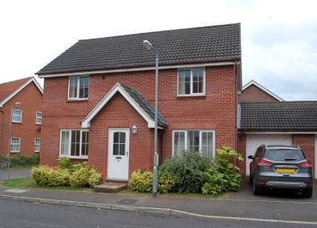 Thumbnail 4 bed detached house to rent in Ethelreda Drive, Thetford, Norfolk