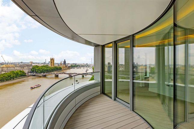 Thumbnail Flat to rent in The Corniche, Tower Two, 23 Albert Embankment, London