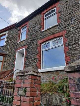 3 bed terraced house to rent in Brynhufred Terrace, Ferndale CF43
