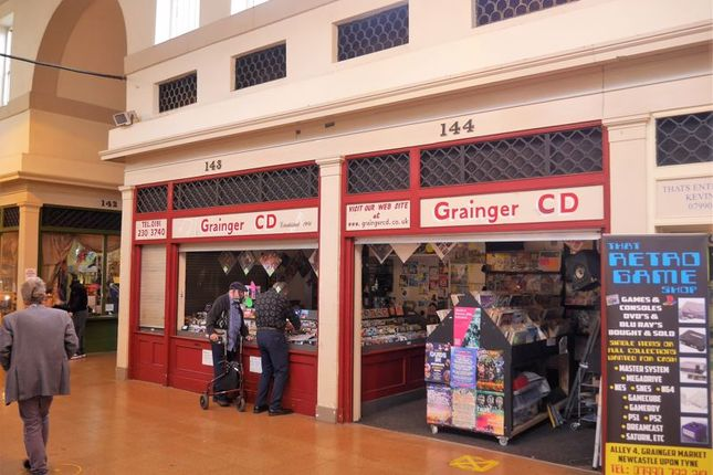 Thumbnail Retail premises for sale in Grainger CD, 143-144 Grainger Market, Newcastle Upon Tyne