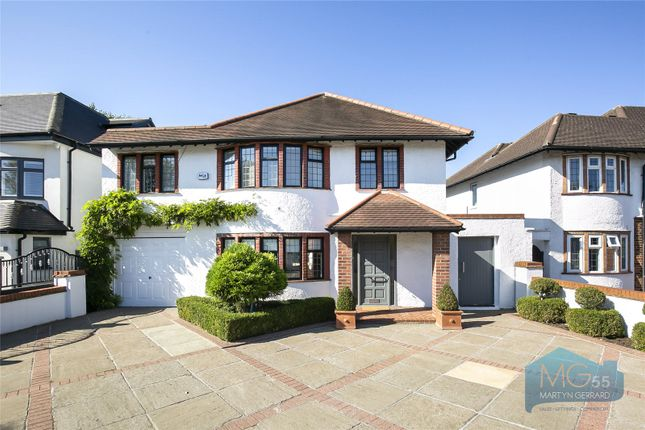 Thumbnail Detached house for sale in Elmgate Gardens, Edgware, Middlesex