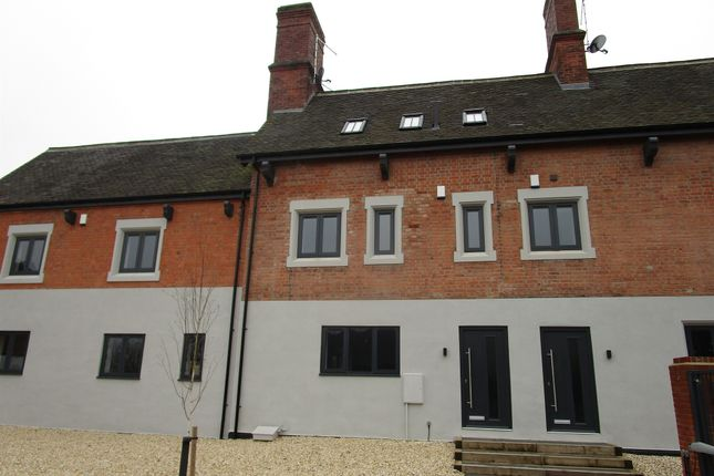 Thumbnail Town house for sale in Station Road, Kegworth, Derby